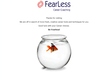 Tablet Preview of fearlessme.co.uk